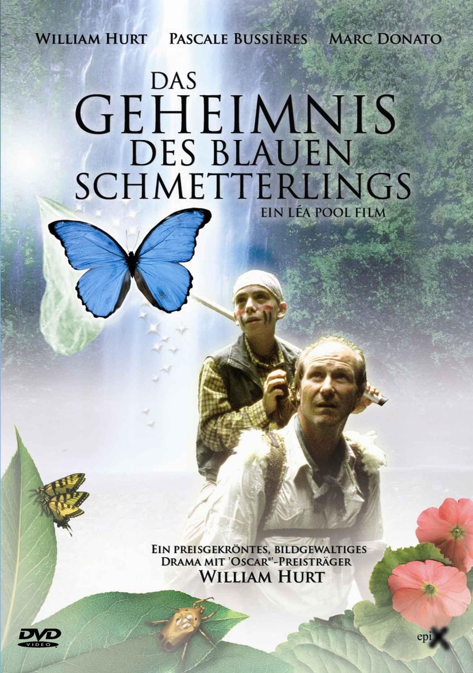 GEHEIMNIS DES BLAUEN SCHMETTERLINGS FrontCover