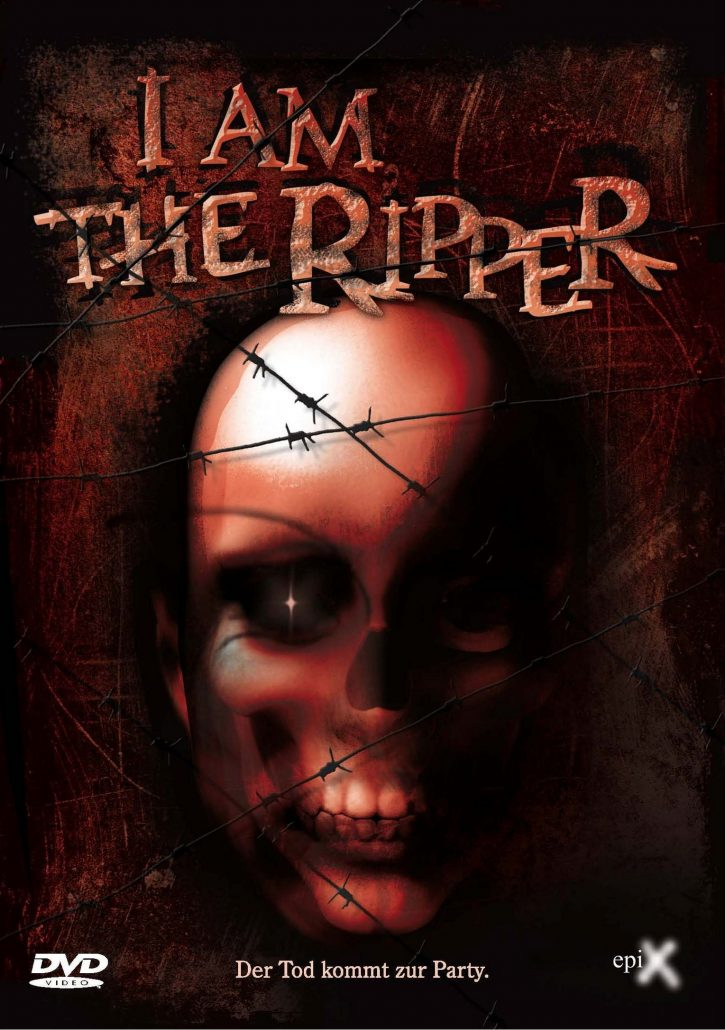 I AM THE RIPPER - Front final